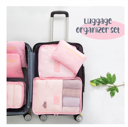 6PCS/Set Luggage Packing Organizer Set