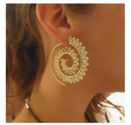New Fashion Round Dangle Drop Earring
