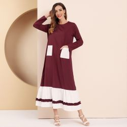 Long Dress With Side Pockets
