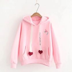 Heart Strings Pullover with Hoodie